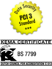 MKBackup is PCI 3 & BS7799 Certified